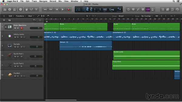 Controlling playback: Logic Pro X Essential Training