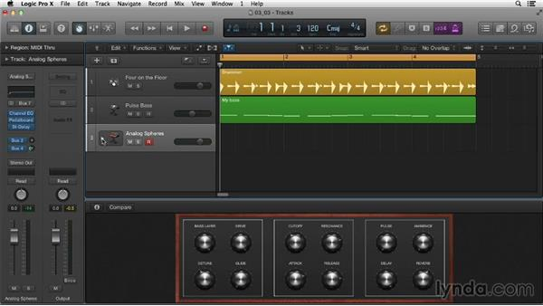 Working with Track Stacks: Logic Pro X Essential Training