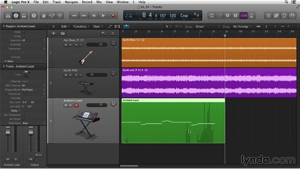 An introduction to MIDI recording: Logic Pro X Essential Training