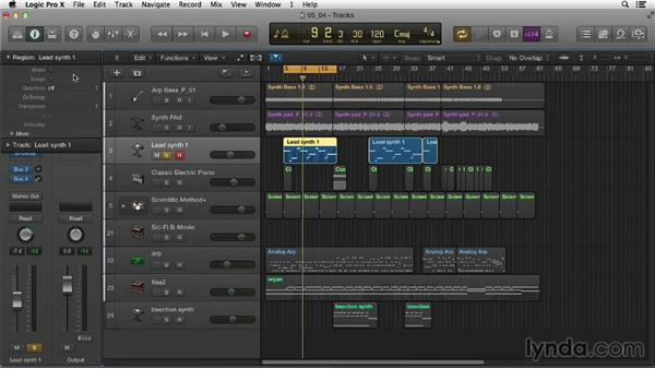 Alternative MIDI editing approaches with the Step Editor: Logic Pro X Essential Training