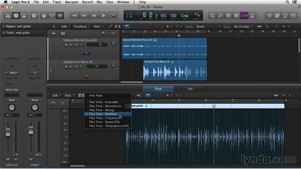 Exploring Flex Time: Logic Pro X Essential Training