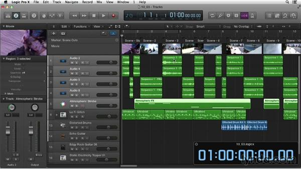 Round-tripping with Final Cut Pro: Logic Pro X Essential Training
