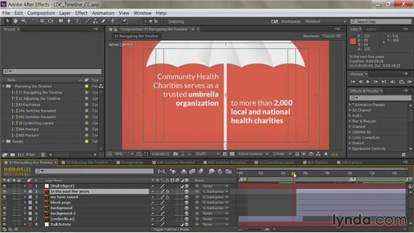 Scrolling the Timeline: After Effects Guru: Mastering the Timeline