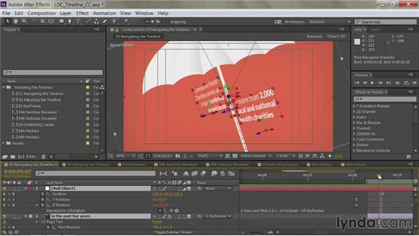 Scrolling with a mouse or trackpad: After Effects Guru: Mastering the Timeline