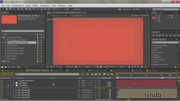 Hiding, showing, and rearranging columns: After Effects Guru: Mastering the Timeline