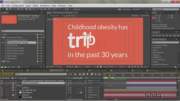 Animation shortcuts: After Effects Guru: Mastering the Timeline
