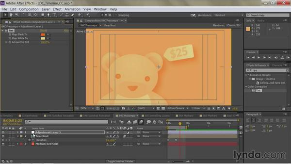 Adjustment layers: After Effects Guru: Mastering the Timeline