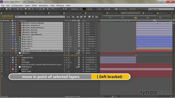 Trim in and out points: After Effects Guru: Mastering the Timeline