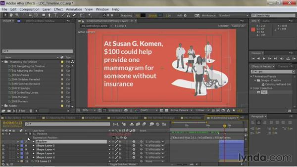 Naming layers: After Effects Guru: Mastering the Timeline