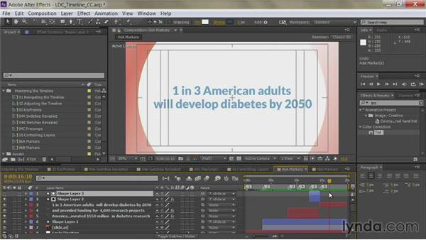 Composition markers: After Effects Guru: Mastering the Timeline