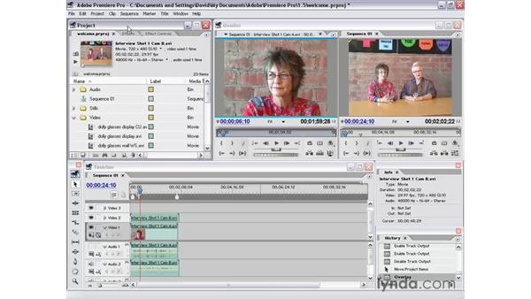 what's in these tutorials: Premiere Pro 1.5 Essential Training