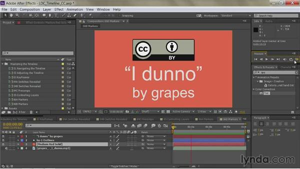 Tapping out the beat: After Effects Guru: Mastering the Timeline