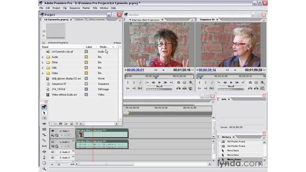 project window views: Premiere Pro 1.5 Essential Training