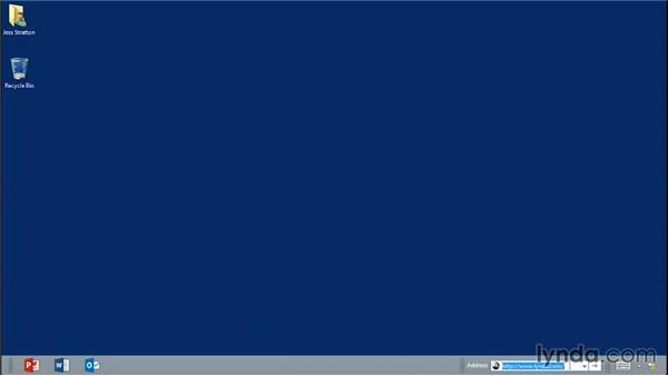 Hiding taskbars: Monday Productivity Pointers