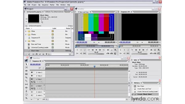 synthetic media: Premiere Pro 1.5 Essential Training
