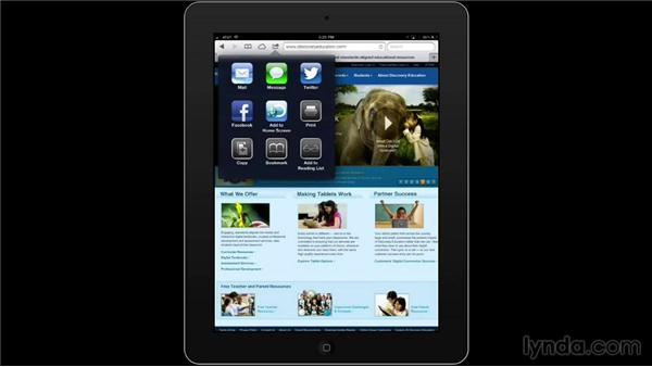 Adding website icon links: iPad Classroom: Apps for Educators