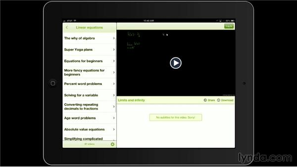 Khan Academy: iPad Classroom: Apps for Educators