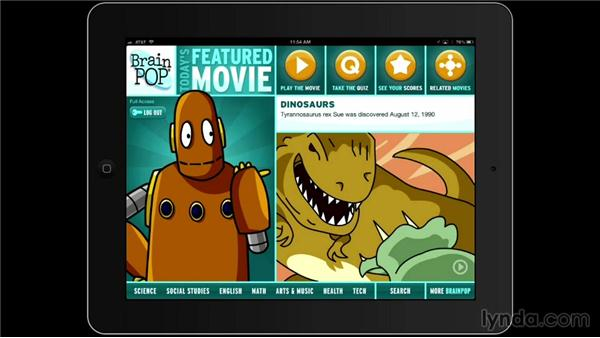 BrainPOP: iPad Classroom: Apps for Educators