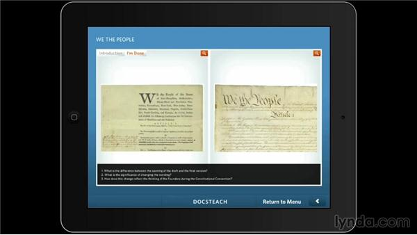 National Archives DocsTeach: iPad Classroom: Apps for Educators