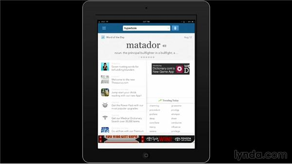 Dictionary: iPad Classroom: Apps for Educators