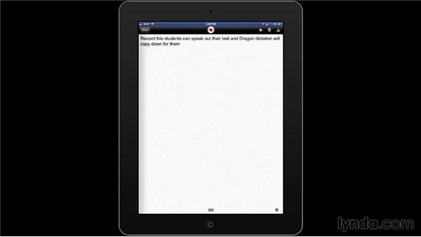 Dragon Dictation: iPad Classroom: Apps for Educators