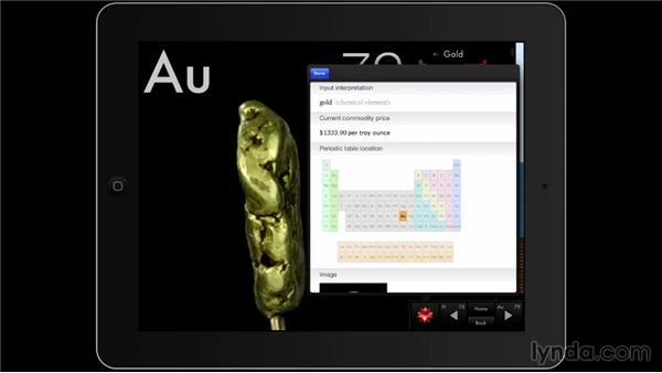 The Elements: A Visual Exploration: iPad Classroom: Apps for Educators