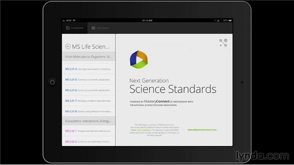 Next Generation Science Standards: iPad Classroom: Apps for Educators