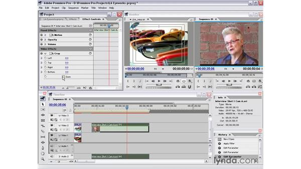 standard effects: Premiere Pro 1.5 Essential Training