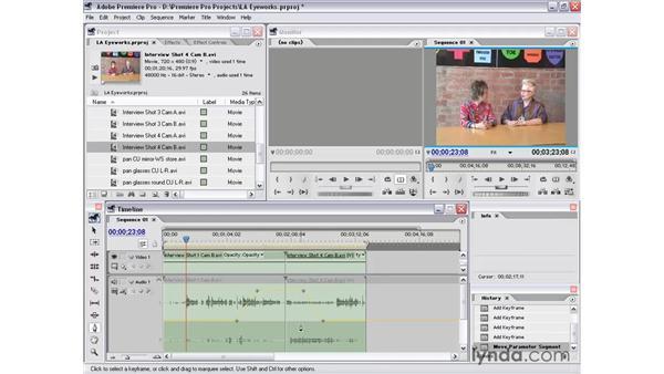 track audio: Premiere Pro 1.5 Essential Training