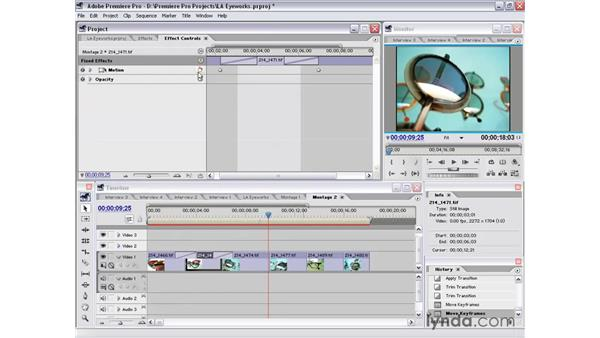 montage 2 part 1: Premiere Pro 1.5 Essential Training