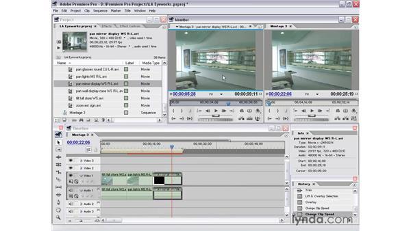 montage 3: Premiere Pro 1.5 Essential Training
