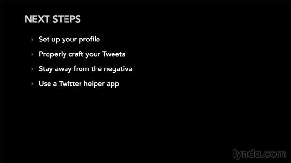 Next steps: Twitter for Musicians and Bands