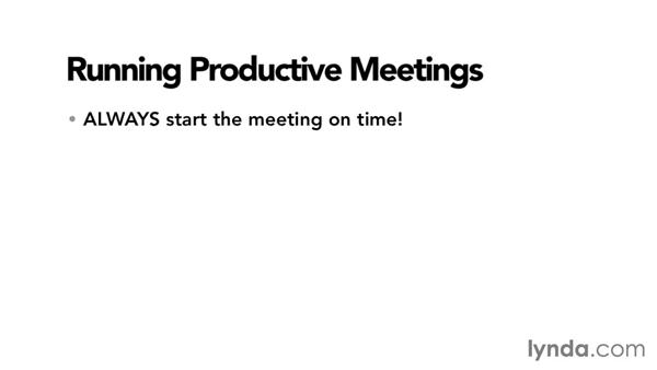 Running a productive online meeting: Monday Productivity Pointers