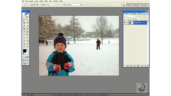 quickmask is your friend: Photoshop CS Power Shortcuts