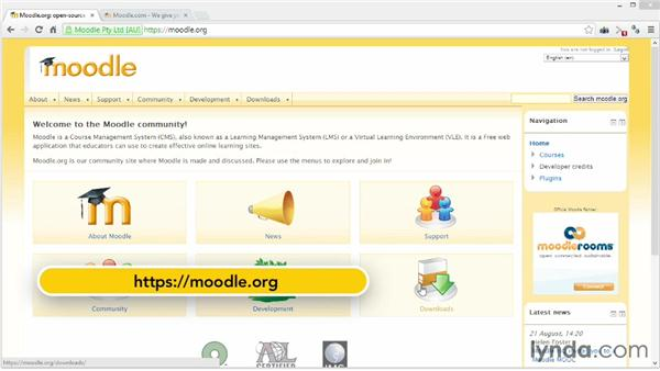 : Moodle 2.4 Essential Training