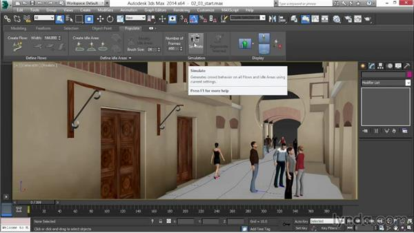 Adding and customizing 3D people: 3ds Max 2014 New Features