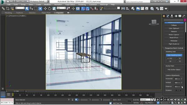 Solving the camera: 3ds Max 2014 New Features