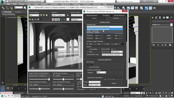 Introduction to the Unified sampler: 3ds Max 2014 New Features