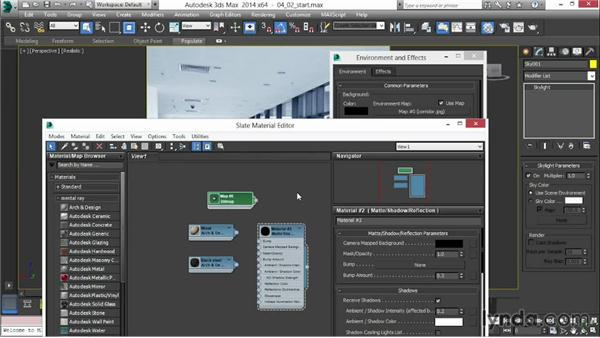 Using the Skylight module: 3ds Max 2014 New Features