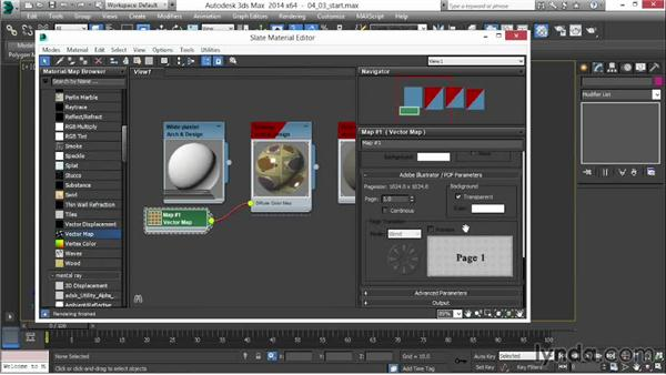 Working with vector maps: 3ds Max 2014 New Features