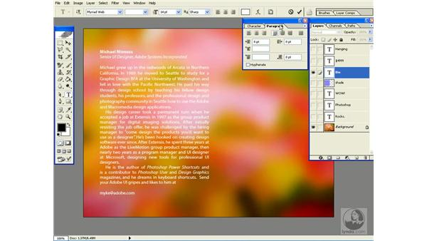 type formatting shortcuts: Photoshop CS Power Shortcuts