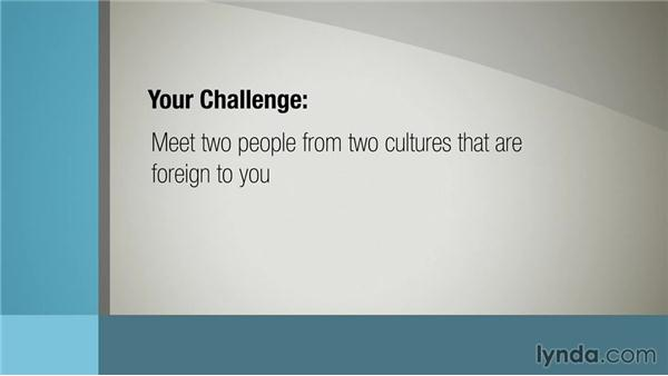 Challenging yourself: Communicating across Cultures
