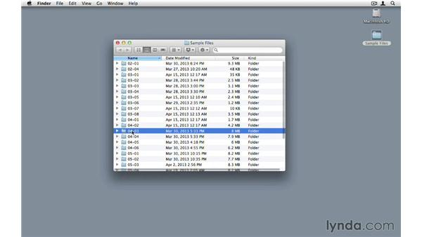Using the sample files: InDesign CS6 to HTML