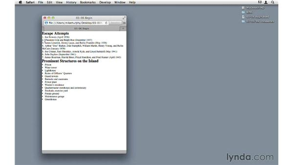 Exporting lists as HTML: InDesign CS6 to HTML