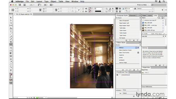 Adding web-sized alternate images to a layout: InDesign CS6 to HTML