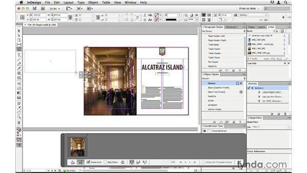 Dynamically linking print and web images: InDesign CS6 to HTML