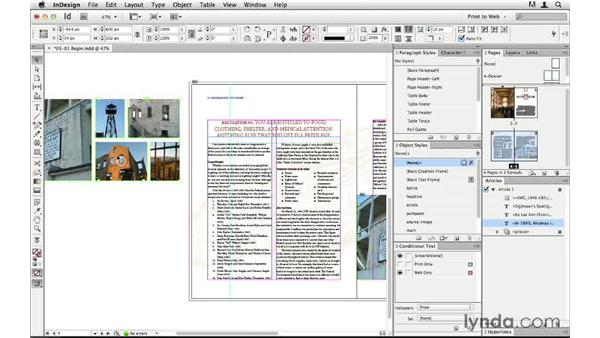 Anchoring objects into a text flow: InDesign CS6 to HTML