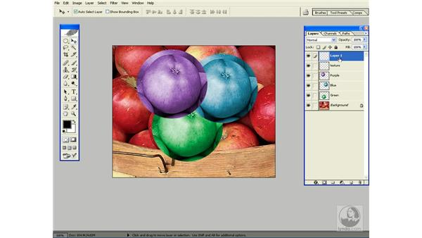 creating new layers: Photoshop CS Power Shortcuts