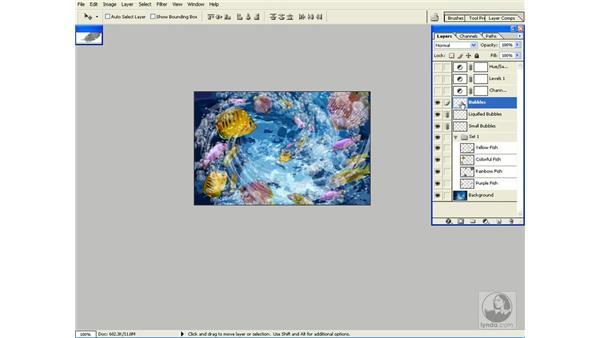 layer sets: Photoshop CS Power Shortcuts