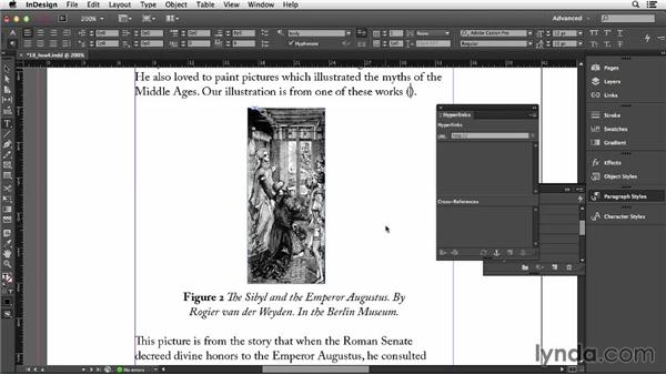 112 Automatically updating figure references for books: InDesign Secrets